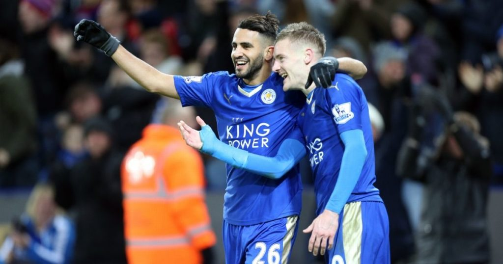 Vardy and Mahrez